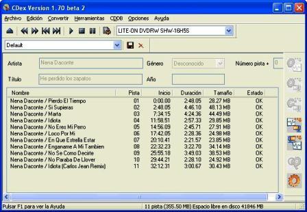 CDex 1.70