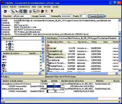 FileZilla 3.0.5.2