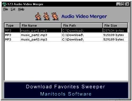 123 Audio Video Merger 1.00