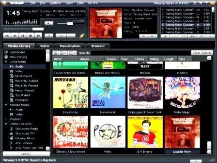 Winamp 5.5 en Español - Portable