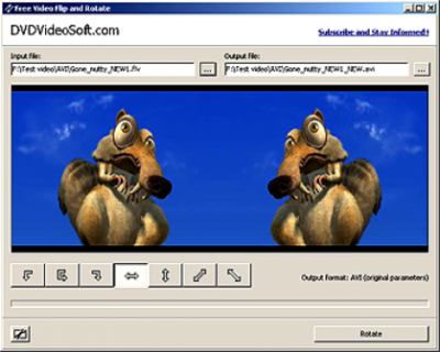 Software para reflejar y girar videos para Windows