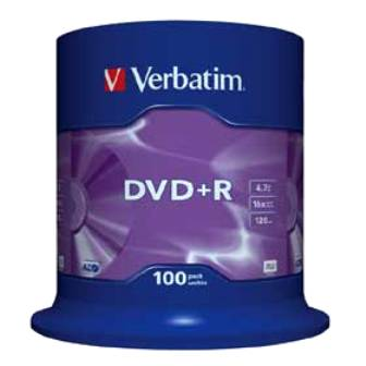COMPRANDO DVD's  VERBATIM   +R  / -R