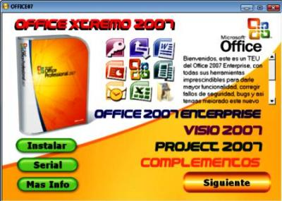 Office Xtremo 2007 (DVD)
