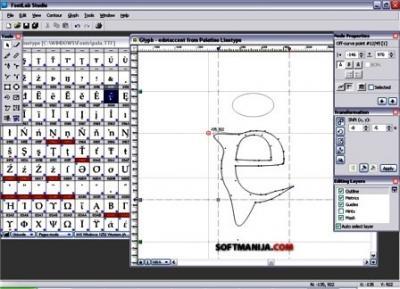 FontLab Studio v5. (edita tus fuentes)