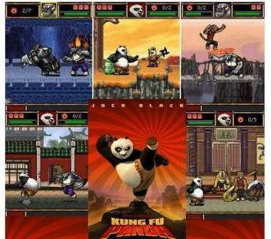 Kung fu Panda:  Juego en java y Película en 3gp (para tu móvil)