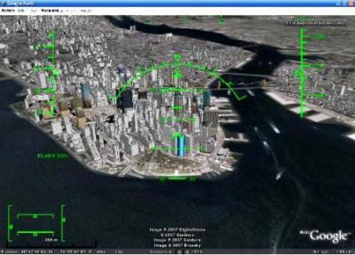Google Earth incluye un simulador de vuelo
