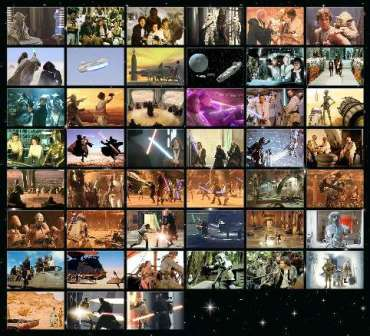 Pack de juegos la guerra de las galaxias (para móvil)