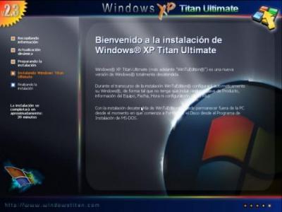WINDOWS XP TITAN ULTIMATE EDITION 2009