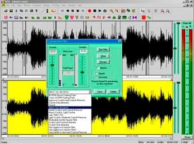 RESTAURADOR DE AUDIO PORTABLE Diamond Cut Live Forensics 7.06